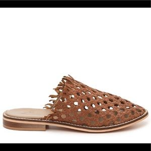 NWT FREE PEOPLE WOVEN MIRAGE POINTED TOE MULE/ 9
